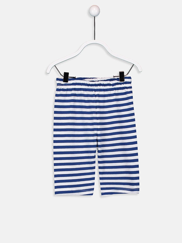 Erkek Bebek Pamuklu Pijama Alt 2'li