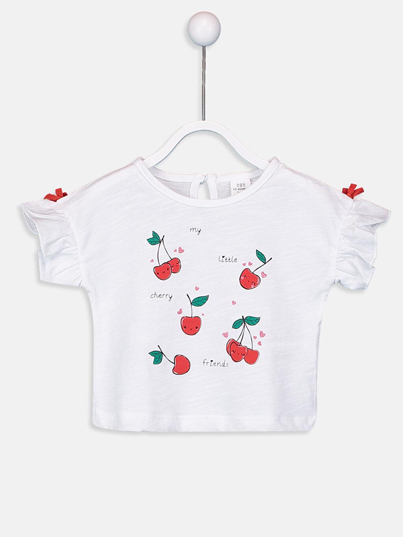 Yenidoğan Baskılı Pamuklu Tişört 2'li