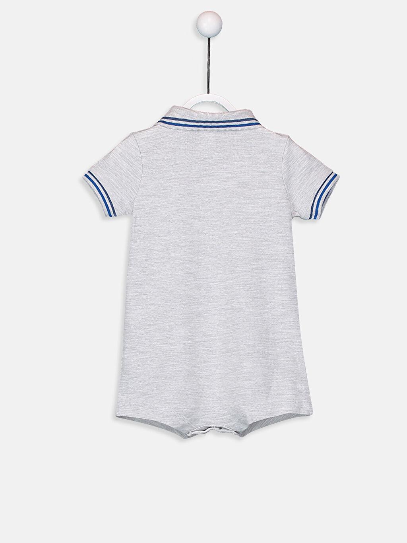 %98 Pamuk %2 Polyester Tulum Erkek Bebek Pamuklu Tulum