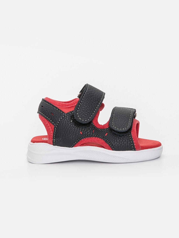 Kırmızı Erkek Bebek Cırt Cırtlı Sandalet 9SI080Z1 LC Waikiki