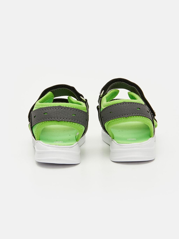 Erkek Bebek Cırt Cırtlı Sandalet