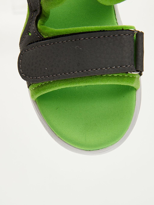 LC Waikiki Yeşil Erkek Bebek Cırt Cırtlı Sandalet