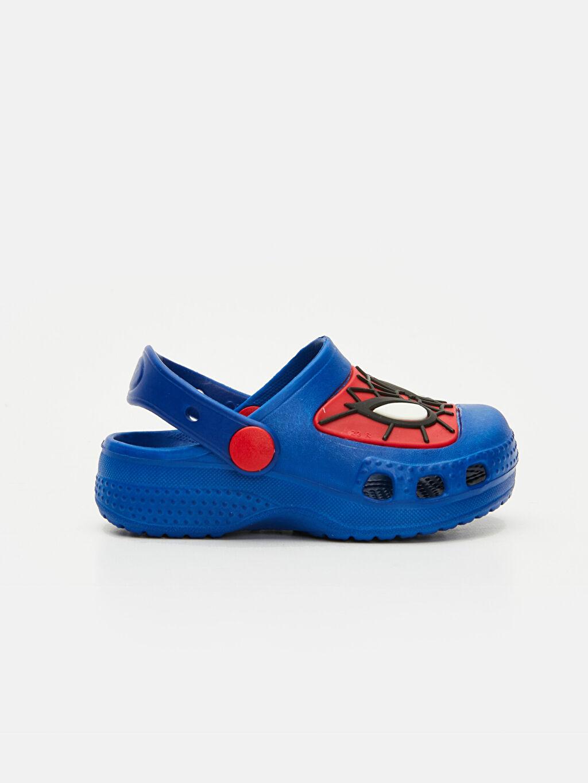 Mavi Erkek Bebek Spiderman Baskılı Terlik 9SI672Z1 LC Waikiki