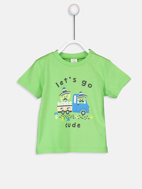 Erkek Bebek Erkek Bebek Pamuklu Pijama Takımı
