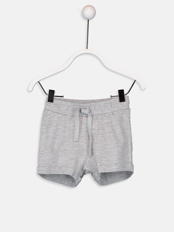 Erkek Bebek Pamuklu Tişört ve Şort Takım 2'li