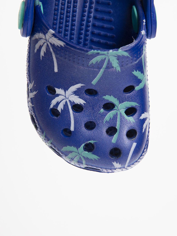 LC Waikiki Mavi Erkek Bebek Desenli Sandalet
