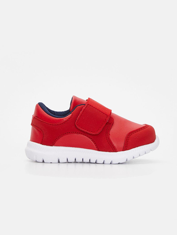 Kırmızı Erkek Bebek Aktif Spor Ayakkabı 9SK037Z1 LC Waikiki