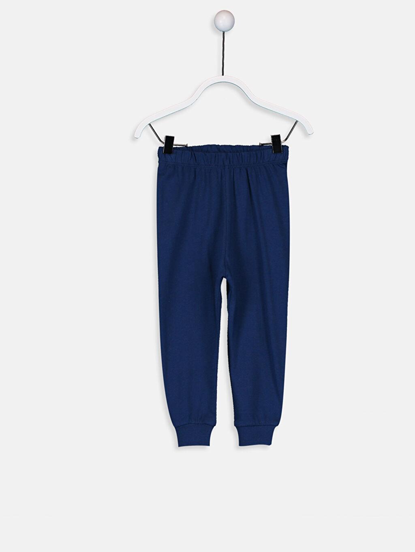 Erkek Bebek Pamuklu Pijama Takımı