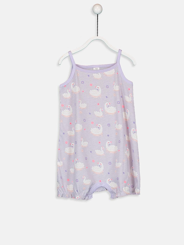 Kız Bebek Desenli Pijama  2'li