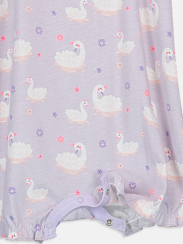 Pembe Kız Bebek Desenli Pijama  2'li