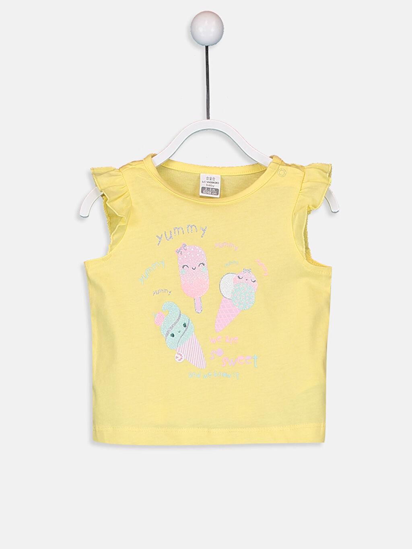 Kız Bebek Kız Bebek Pamuklu Pijama Takımı