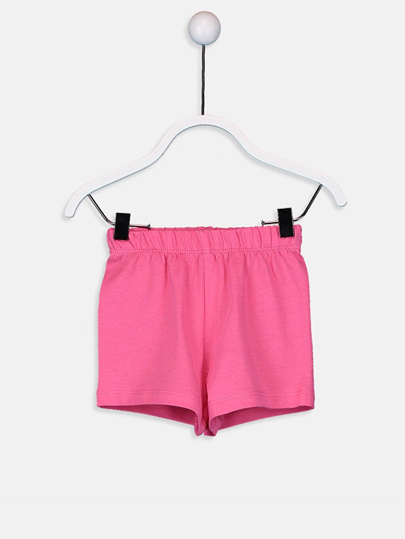 Kız Bebek Pamuklu Pijama Takımı