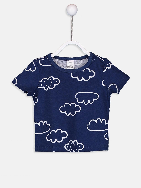 Erkek Bebek Erkek Bebek Pamuklu Pijama Takımı 4'lü
