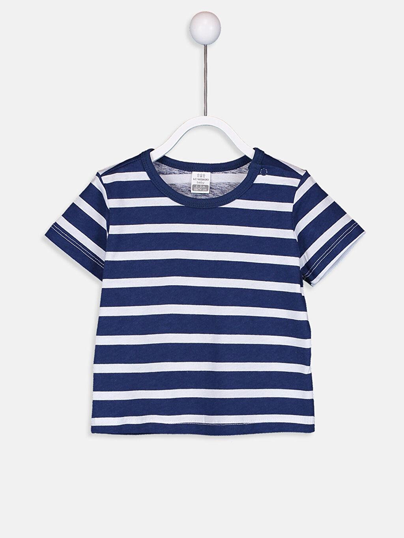 Erkek Bebek Pamuklu Pijama Takımı 4'lü