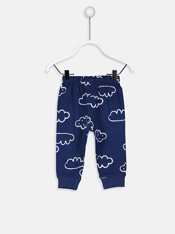LC Waikiki Beyaz Erkek Bebek Pamuklu Pijama Takımı 4'lü