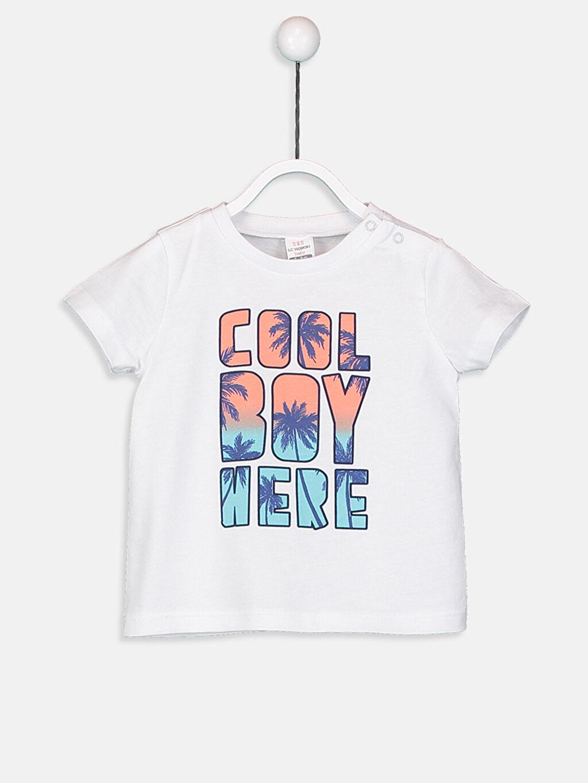 Erkek Bebek Erkek Bebek Pamuklu Tişört Ve Şort
