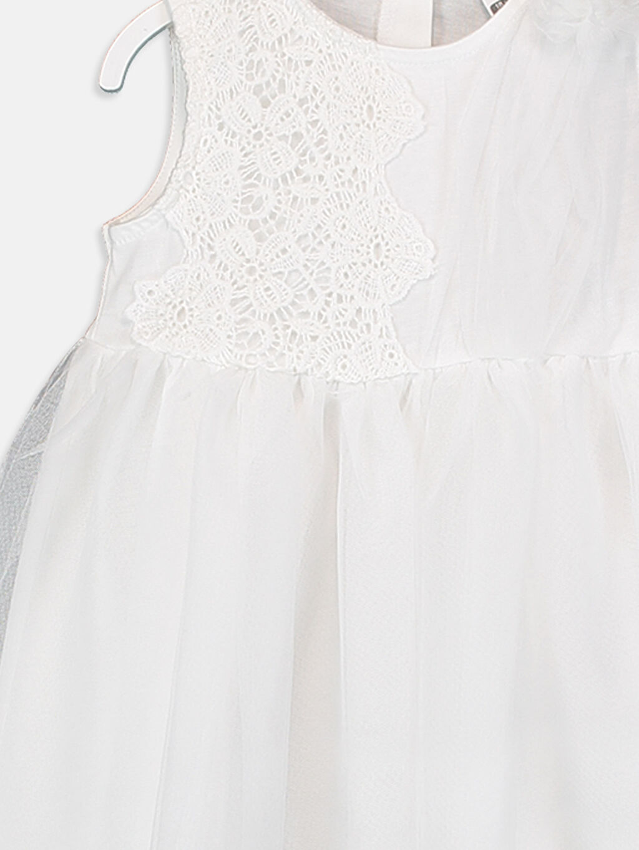 Kız Bebek Kız Bebek Dantelli Elbise