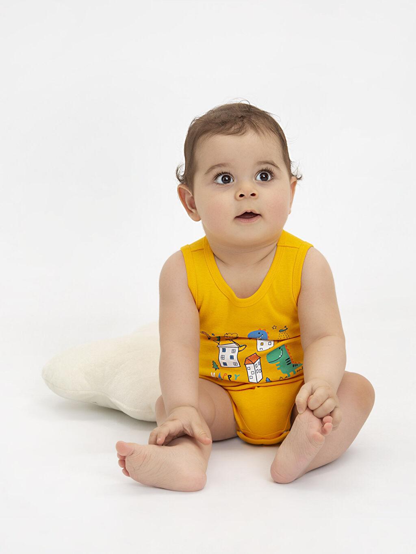 9SR820Z1 Erkek Bebek Çıtçıtlı Body 2'li