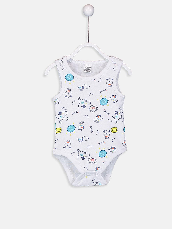 Erkek Bebek Çıtçıtlı Body 2'li