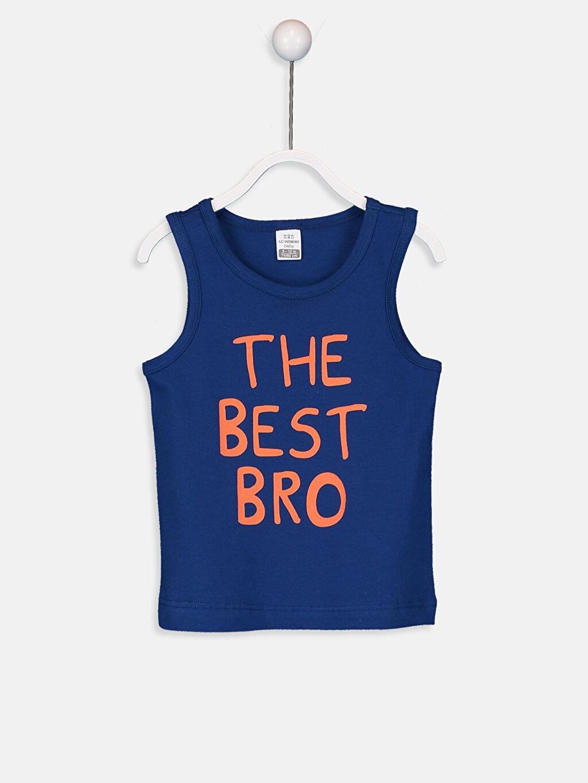 Erkek Bebek Erkek Bebek Pamuklu Atlet 2'li