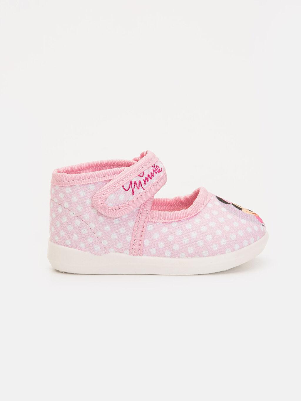Pembe Kız Bebek Minnie Mouse Baskılı Ayakkabı 9SS437Z1 LC Waikiki
