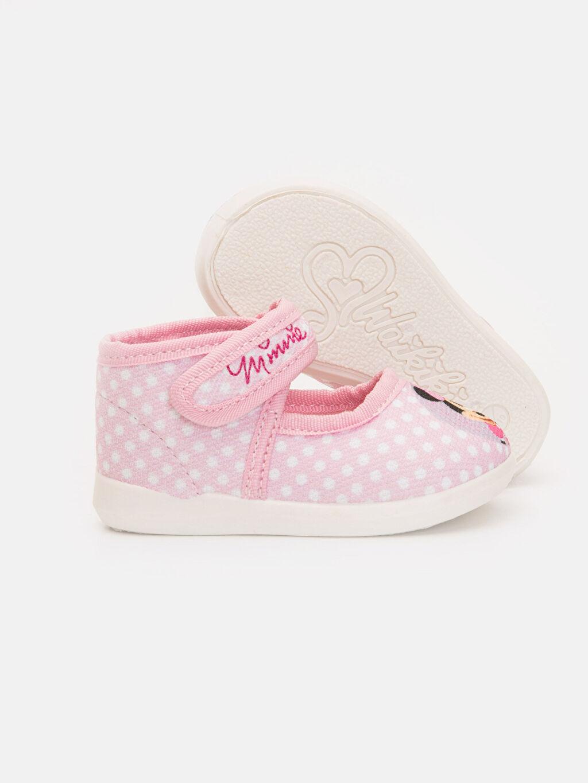 Kız Bebek Kız Bebek Minnie Mouse Baskılı Ayakkabı