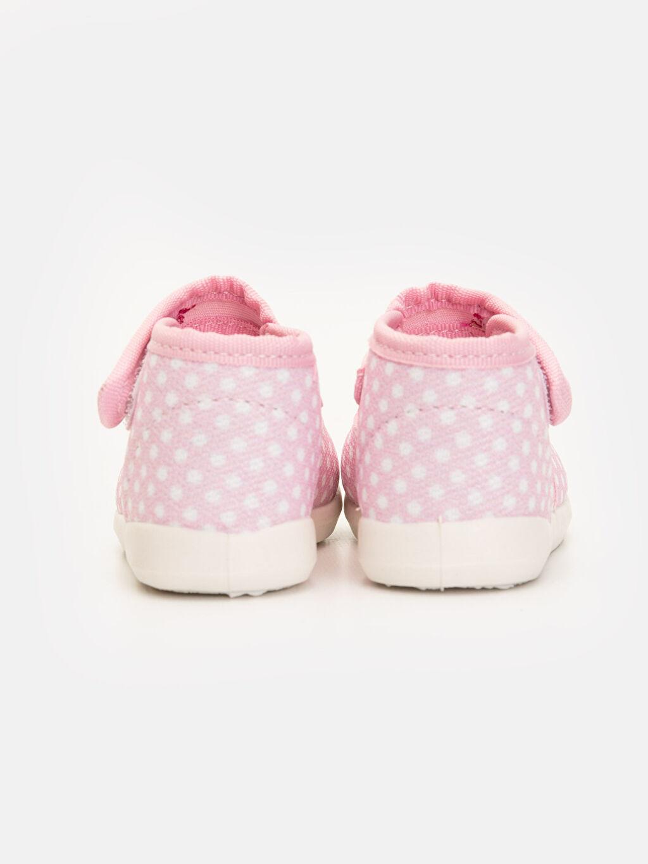 Kız Bebek Minnie Mouse Baskılı Ayakkabı