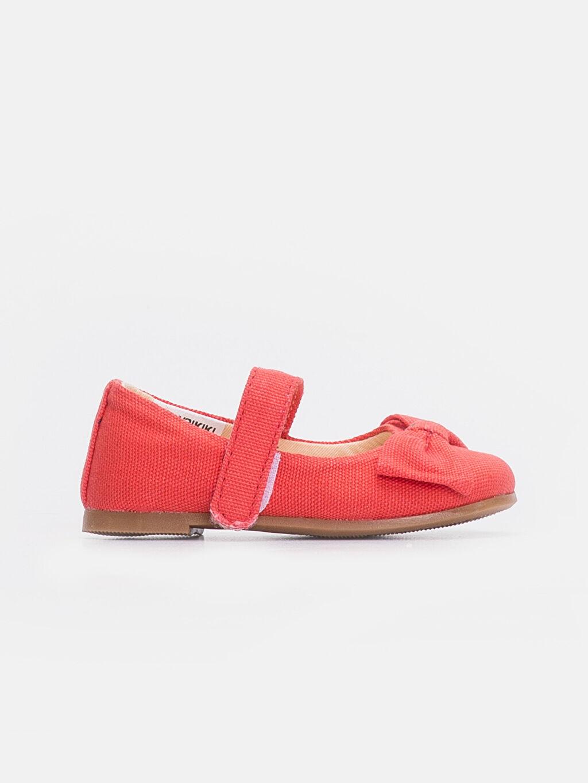 Turuncu Kız Bebek Babet Ayakkabı 9SS439Z1 LC Waikiki
