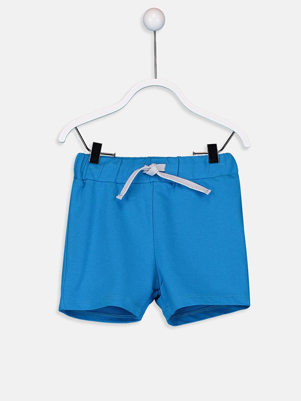 Mavi Erkek Bebek Pamuklu Şort 9SS789Z1 LC Waikiki