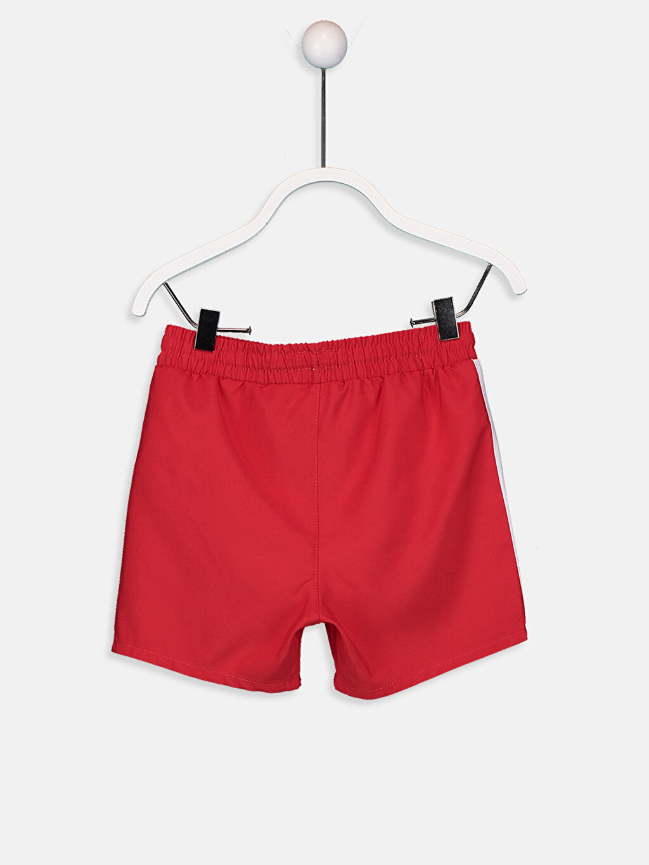 %100 Polyester %100 Polyester  Erkek Bebek Yazı Baskılı Yüzme Şort