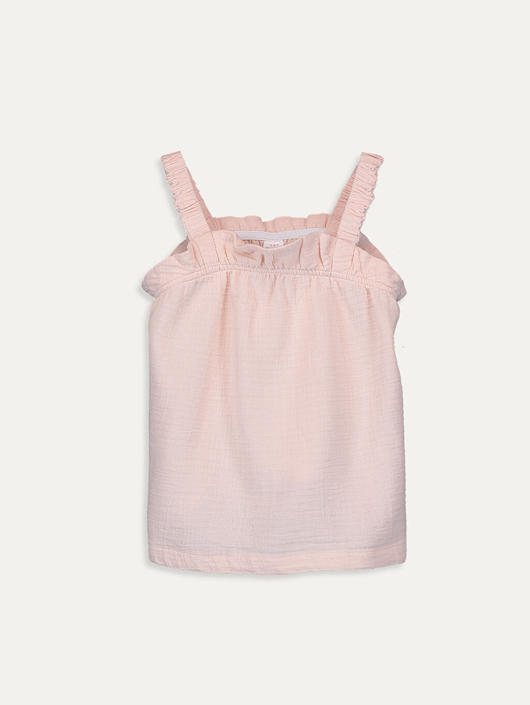 Pembe Kız Bebek Bluz 9ST098Z1 LC Waikiki