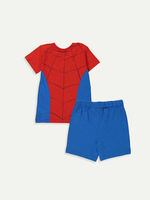 %100 Pamuk %100 Pamuk  Erkek Bebek Spiderman Takım3'lü