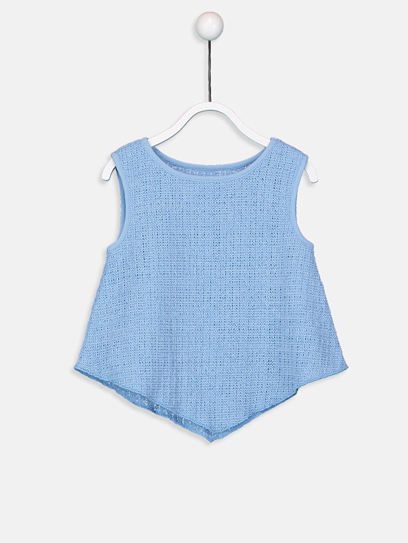 Mavi Kız Bebek Atlet 9ST750Z1 LC Waikiki