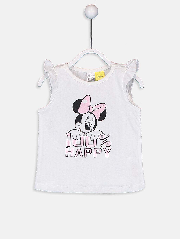 Kız Bebek Kız Bebek Minne Baskılı Pijama Takımı