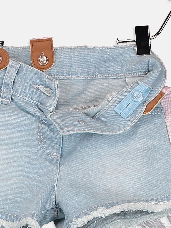 Kız Bebek Kız Bebek Jean Şort Ve Pantolon Askısı