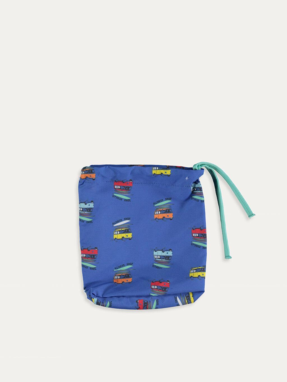 %100 Polyester Erkek Bebek Desenli Yüzme Şort