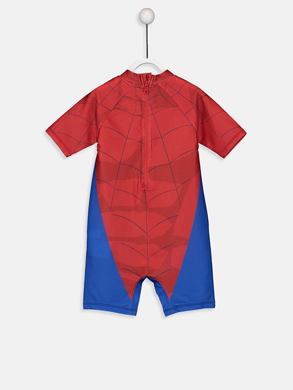 %81 Polyester %19 Elastan  Erkek Bebek Spiderman Mayo