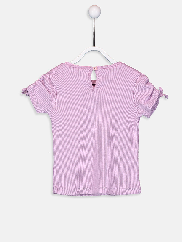 %97 Pamuk %3 Elastan  Kız Bebek Pamuklu Tişört