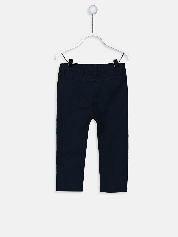 %96 Pamuk %4 Elastan Normal Erkek Bebek Gabardin Pantolon