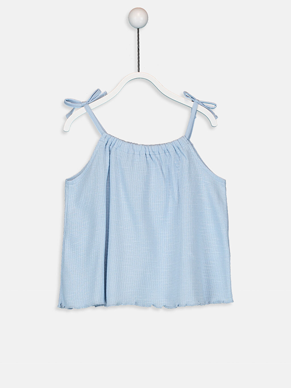 Mavi Kız Bebek Pamuklu Atlet 9SY743Z1 LC Waikiki