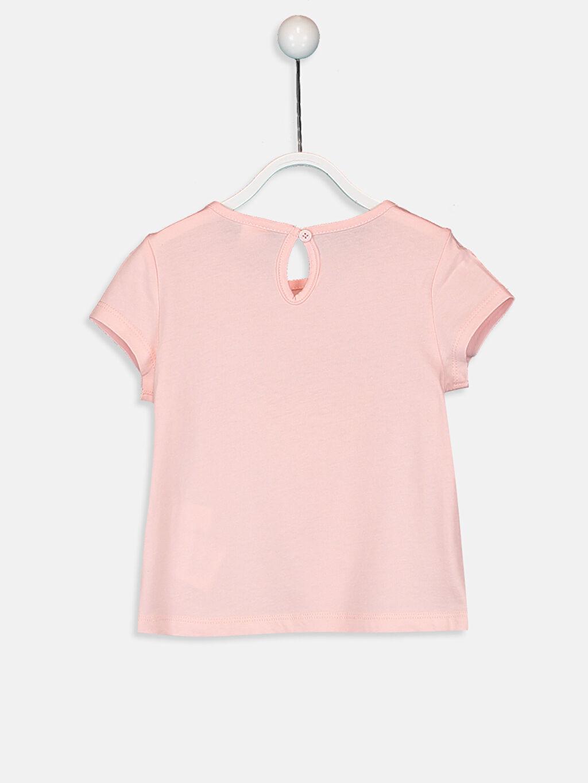 %100 Pamuk Standart Kız Bebek T-Shirt