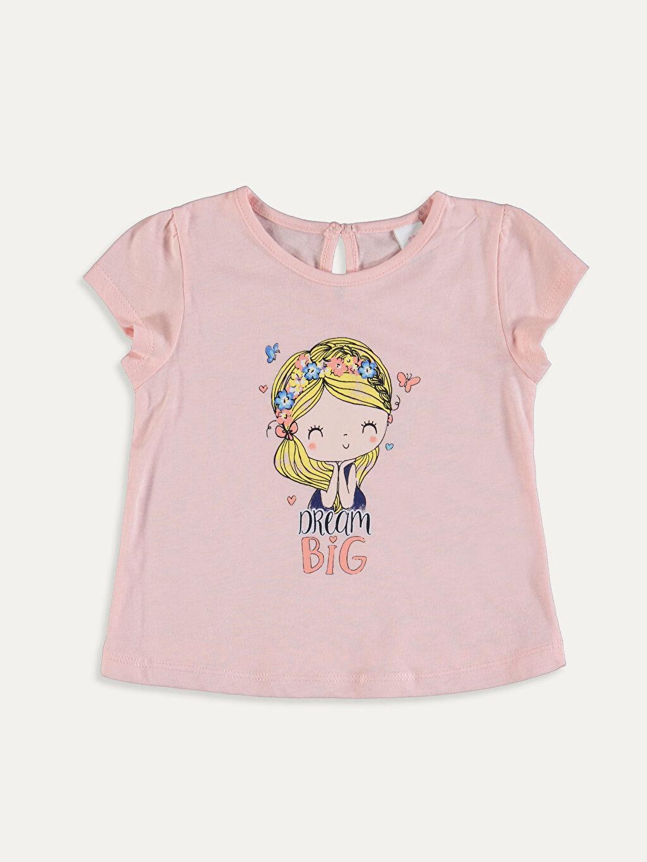 Kız Bebek Kız Bebek Pamuklu Tişört ve Şort