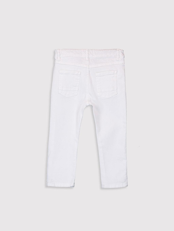 %97 Pamuk %3 Elastan Normal Erkek Bebek Gabardin Pantolon