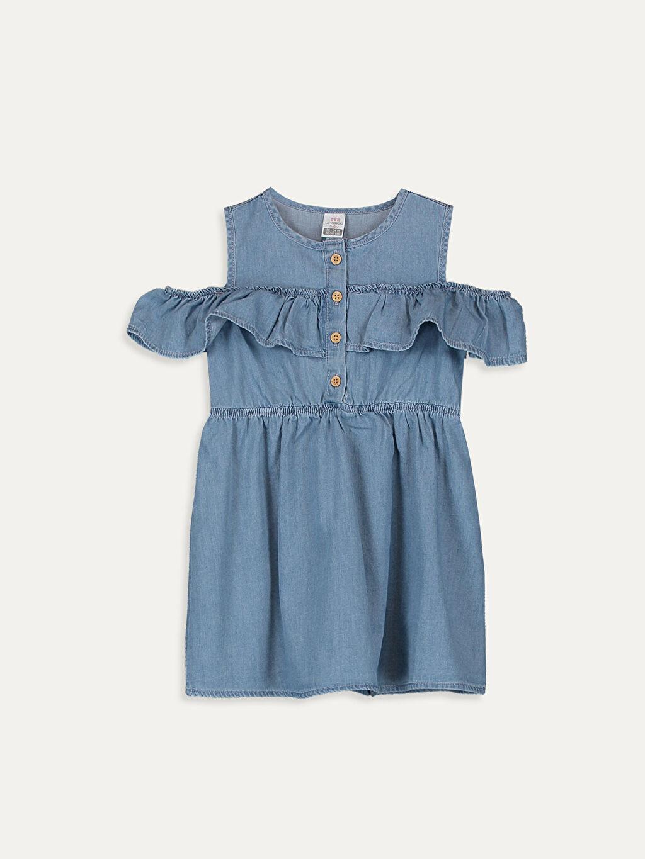 İndigo Kız Bebek Jean Elbise 9SC458Z1 LC Waikiki