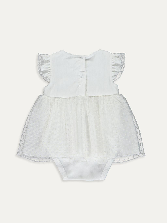 %95 Pamuk %5 Elastan %98 Pamuk %2 Elastan %100 Pamuk  Kız Bebek Çıtçıtlı Body ve Saç Bandı