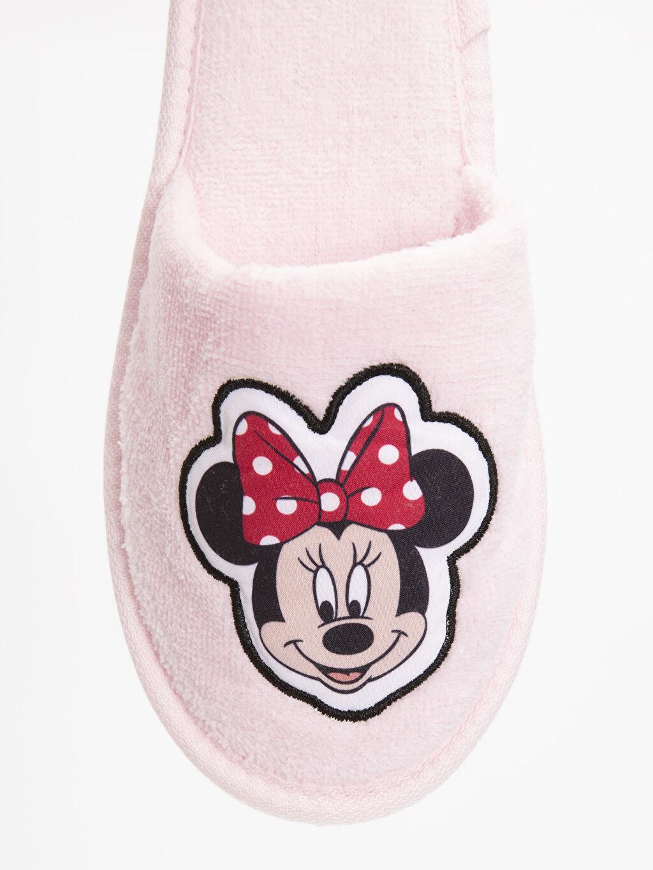 LC Waikiki Pembe Minnie Mouse Lisanslı Banyo Terliği