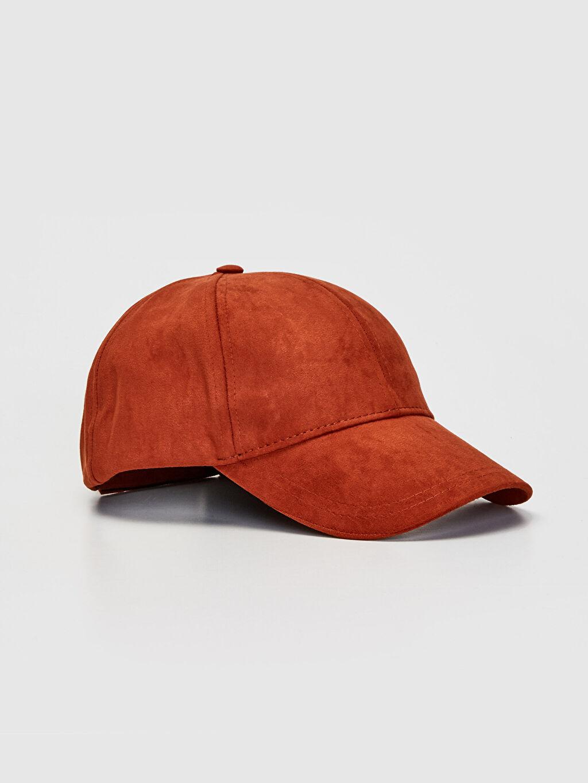 Kahverengi Süet Şapka 9W0305Z8 LC Waikiki