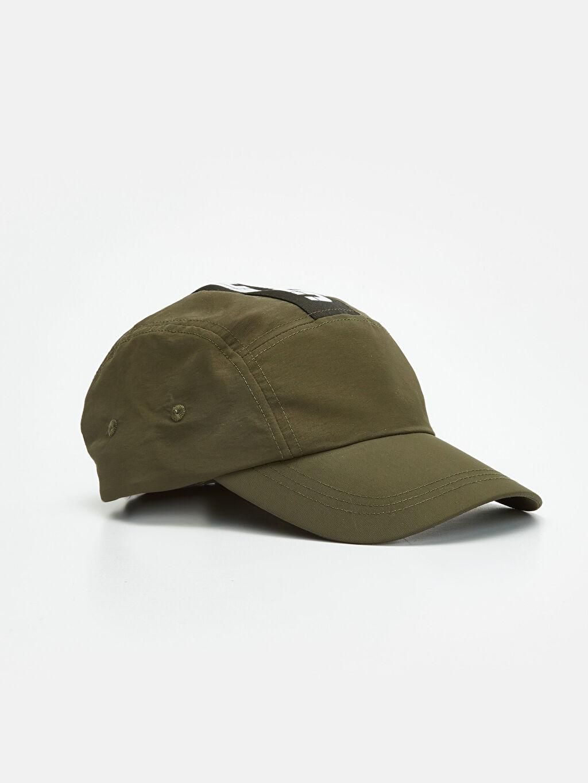 Haki Yazı Baskılı Şapka 9W1689Z8 LC Waikiki