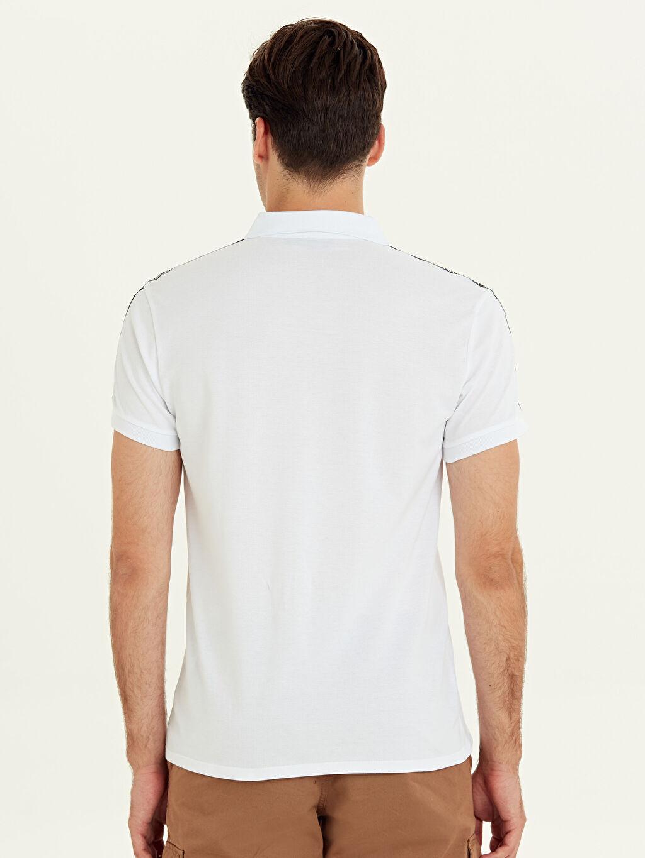 %100 Pamuk Standart Düz Kısa Kol Tişört Polo Polo Yaka Kısa Kollu Pamuklu Tişört