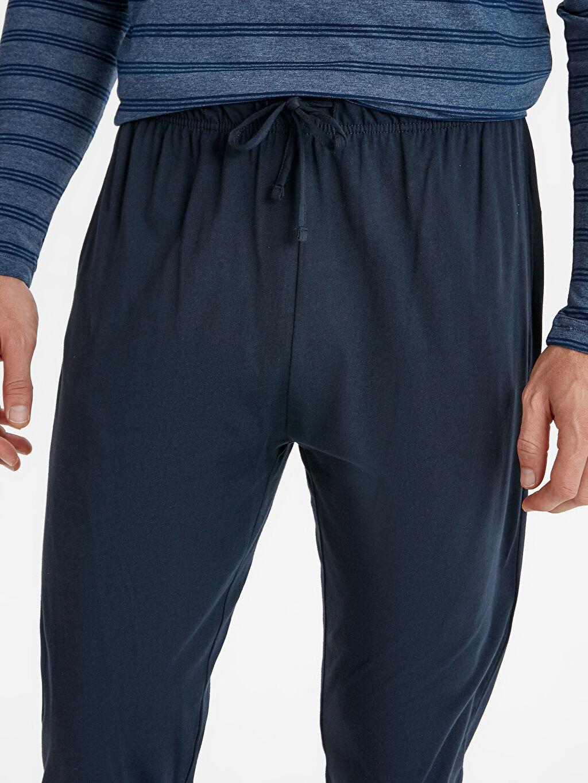 Erkek Standart Kalıp Pijama Takım
